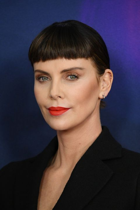 Charlize theron mini fringe