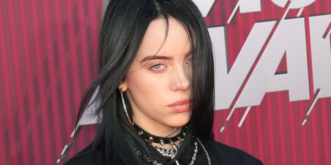 bc18e61f3 Someone Painted Billie Eilish's Face Onto Their Lips