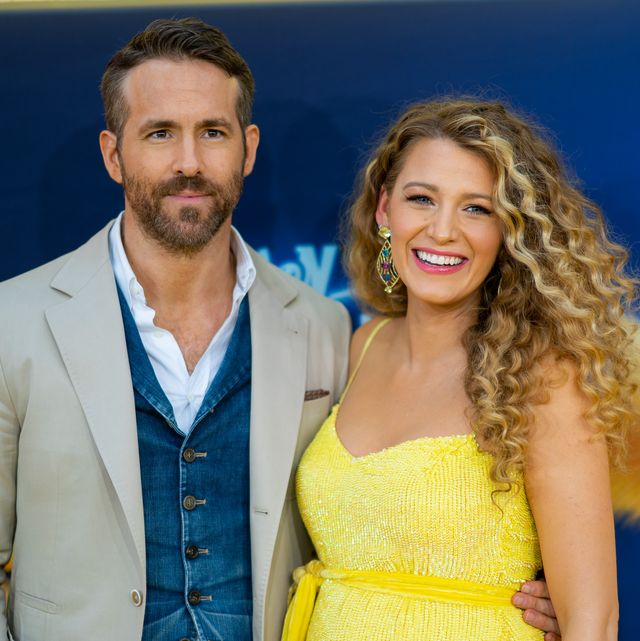 new york, new york   may 02 blake lively and ryan reynolds attend the pokemon detective pikachu us premiere at times square on may 02, 2019 in new york city photo by michael stewartfilmmagic