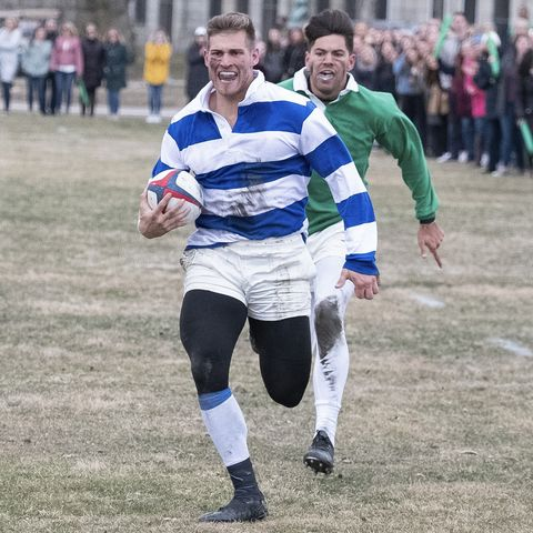 Running, Sports, Recreation, Competition event, Championship, Player, Fun, Grass, Tree, Team,