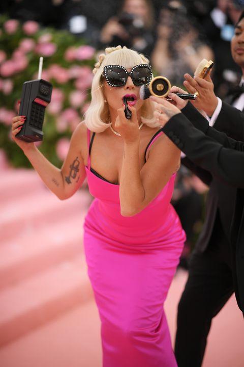 Pink, Shoulder, Dress, Arm, Fashion, Eyewear, Photography, Selfie, Blond, Chest,