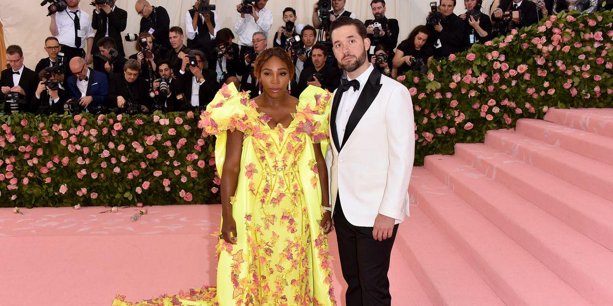 7 Times Serena Williams' Husband Alexis Ohanian Was Her Biggest Fan - elle.com