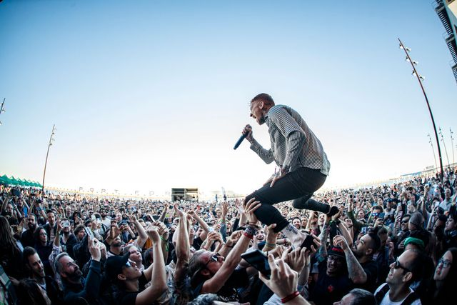 barcelona, spain   june 01  frank carter of frank carter  the rattlesnakes performs in concert during primavera sound on june 1, 2019 in barcelona, spain  photo by xavi torrentwireimage