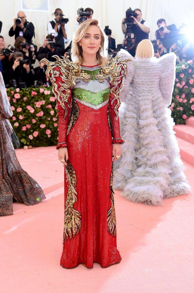 Saoirse Ronan In Gucci.