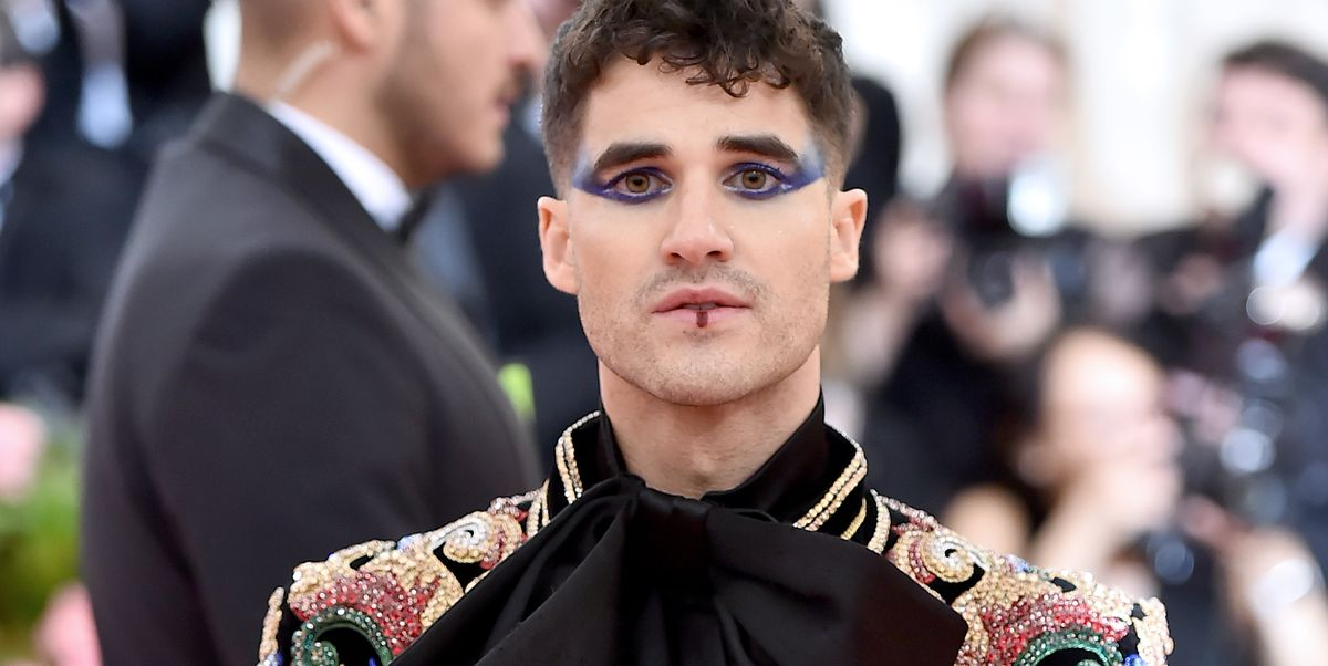 Image result for darren criss met gala