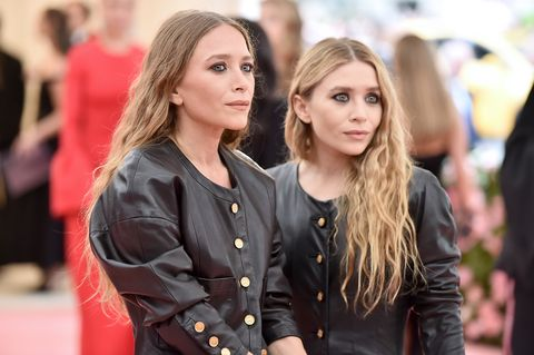 new york, new york   may 06 mary kate olsen and ashley olsen attend the 2019 met gala celebrating camp notes on fashion at metropolitan museum of art on may 06, 2019 in new york city photo by theo wargowireimage