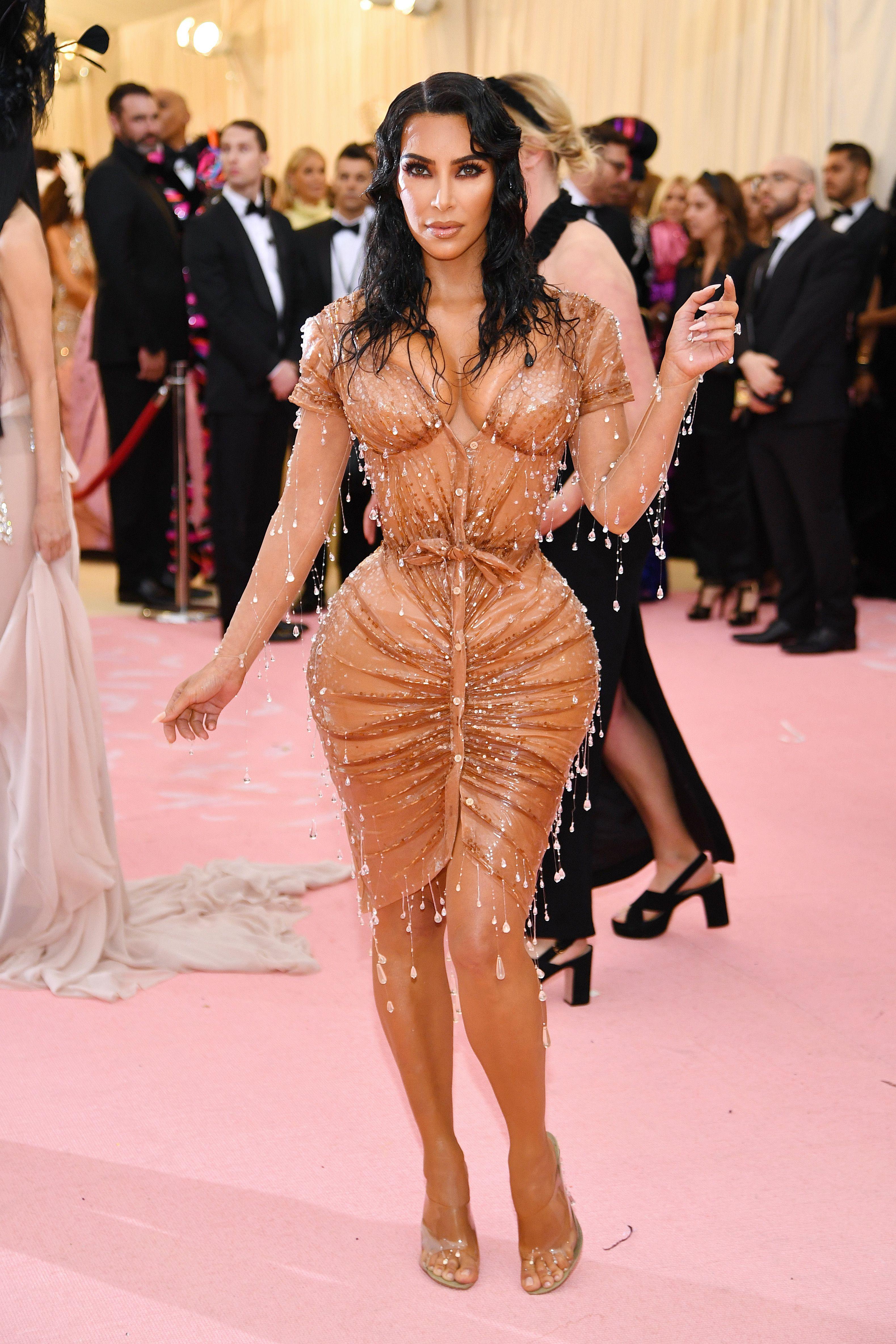 Kim Kardashian In Mugler