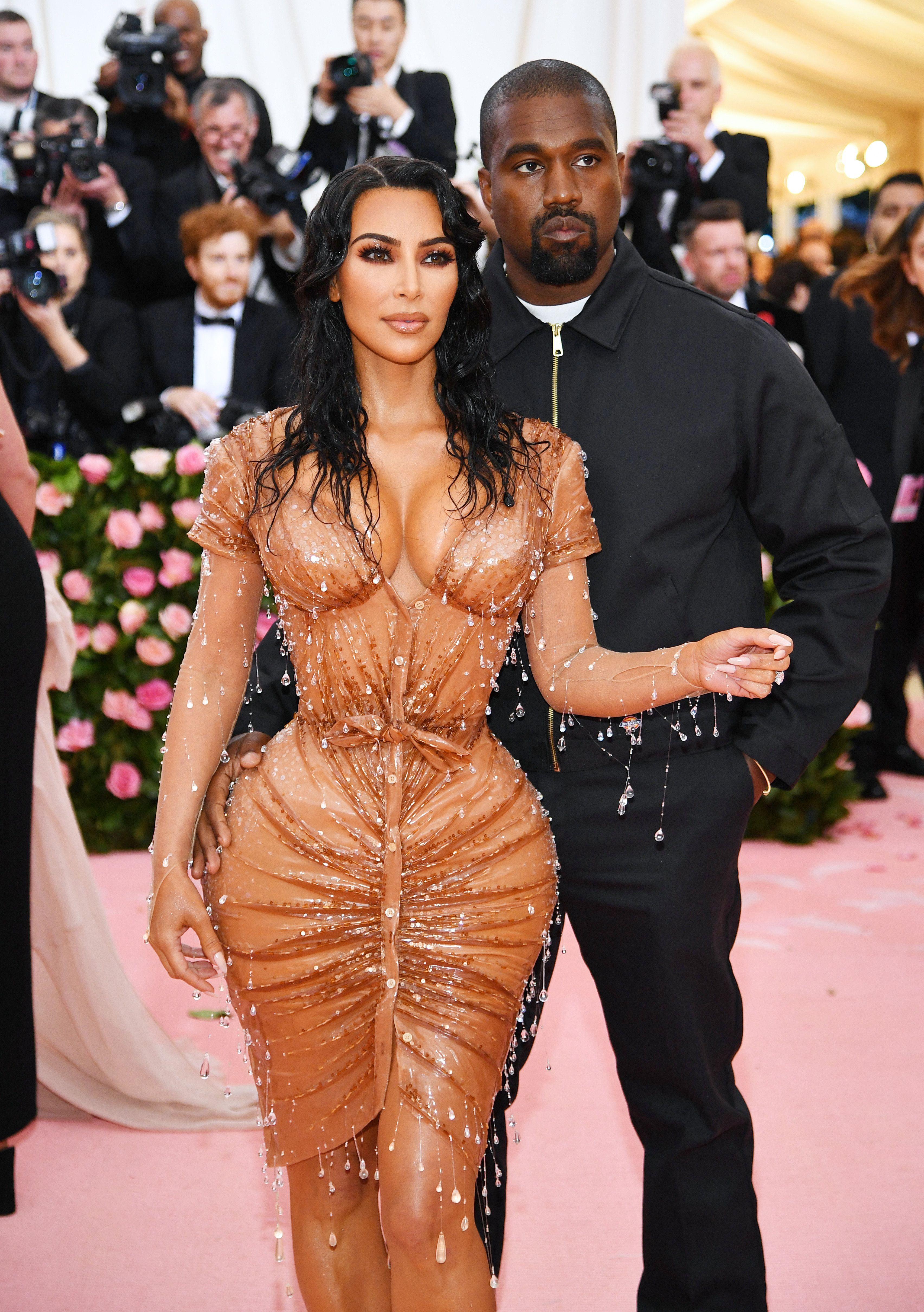 """Kanye West Told Kim Kardashian He Didn't Like Her Met Gala Look Because it Was """"Too Sexy"""""""