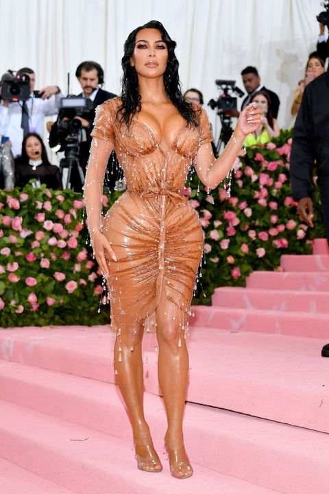 kim kardashian's spills the beans on her thierry mugler 40th birthday outfit