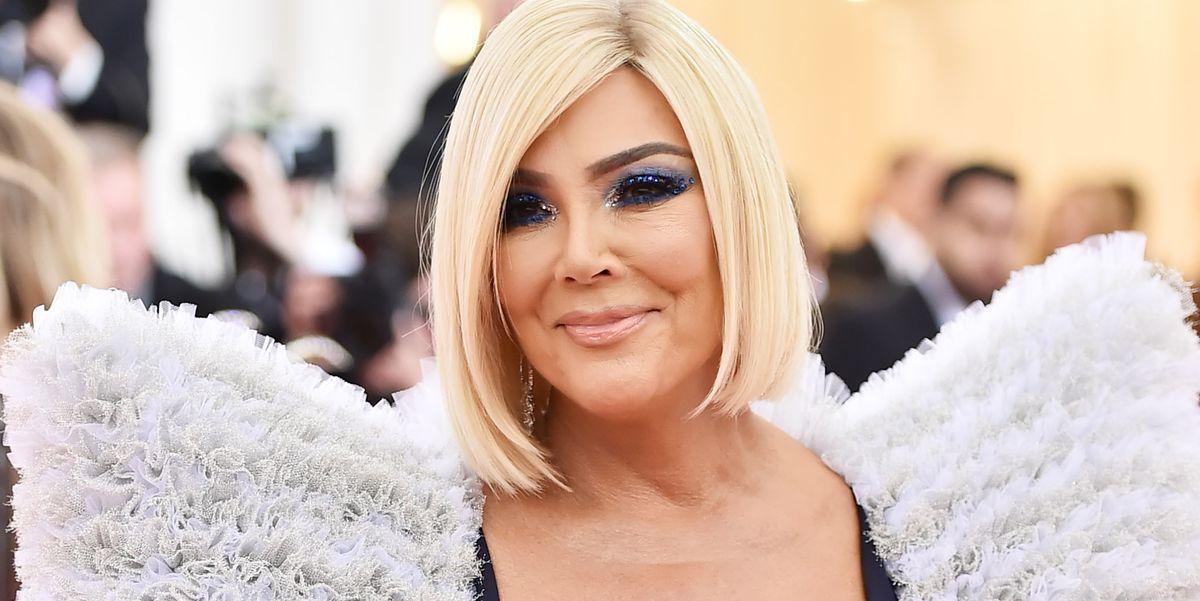 Kris Jenner S Hair Was Platinum Blonde At The 2019 Met Gala