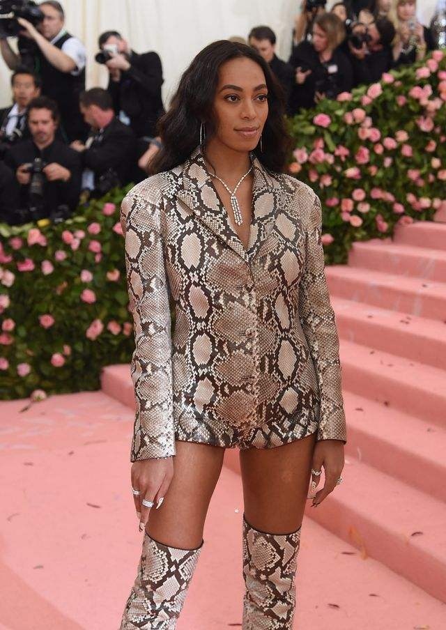 new york, new york   may 06 solange knowles attends the 2019 met gala celebrating camp notes on fashion at metropolitan museum of art on may 06, 2019 in new york city photo by jamie mccarthygetty images