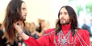 jared Leto Elle The 2019 Met Gala Celebrating Camp: Notes on Fashion - Arrivals