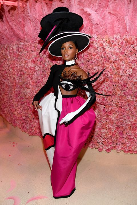Pink, Fashion, Formal wear, Doll, Suit, Costume, Magenta, Toy, Tuxedo, Haute couture,