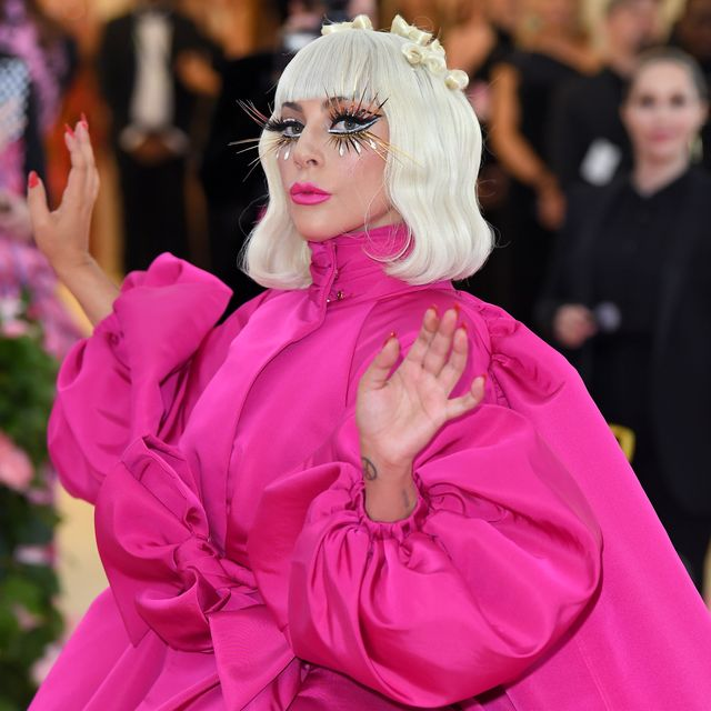 new york, new york   may 06 lady gaga arrives for the 2019 met gala celebrating camp notes on fashion at the metropolitan museum of art on may 06, 2019 in new york city photo by karwai tanggetty images