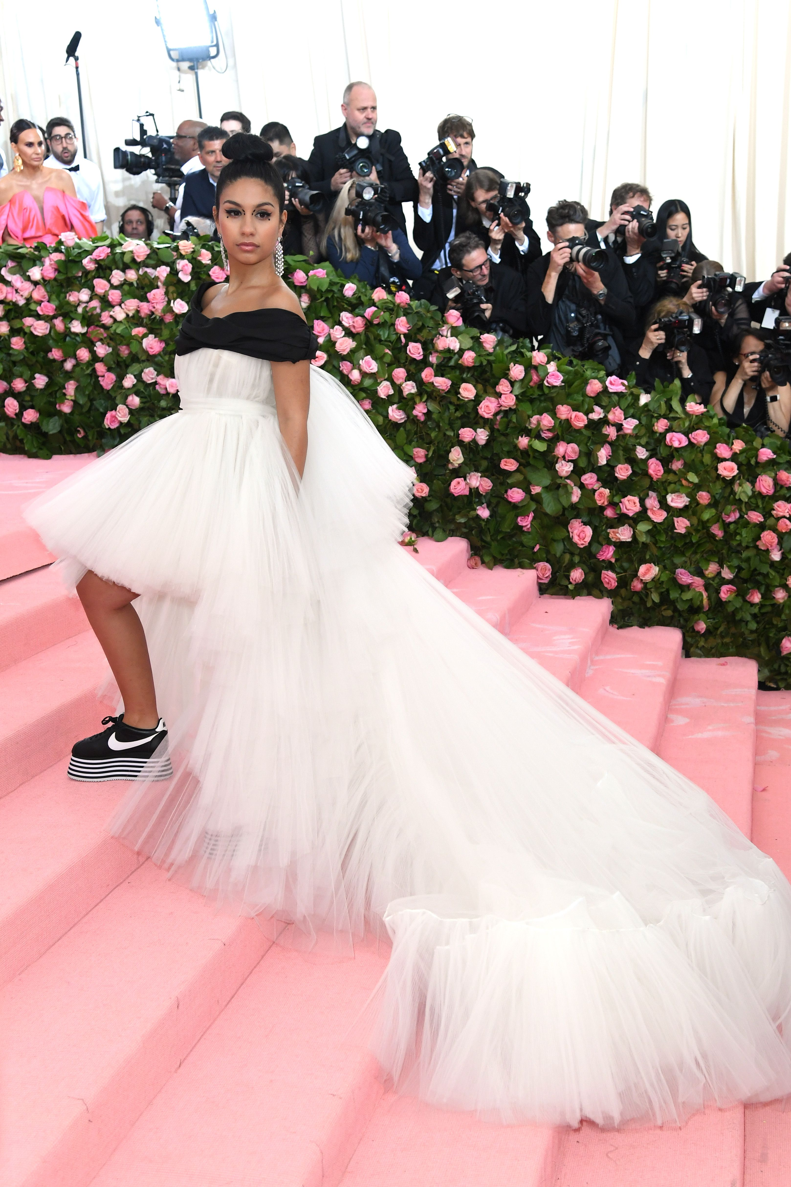 Celebrities Wearing Sneakers on the Red Carpet