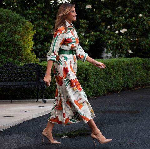 melanie trump state visit 2019
