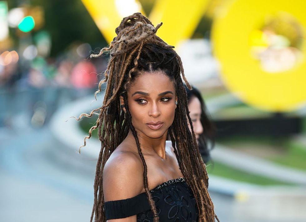 Ciara Just Swapped Her Long Ombré Locs For a Dramatic Pixie Cut