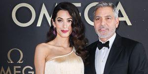 Amal Clooney fringe dress