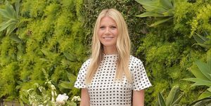Gwyneth Paltrow hosts a Goop morning in celebration of first international campaign with Flow Alkaline Spring Water