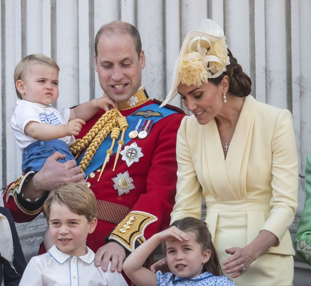 Princess Charlotte and Princes George and Louis Love Airplanes