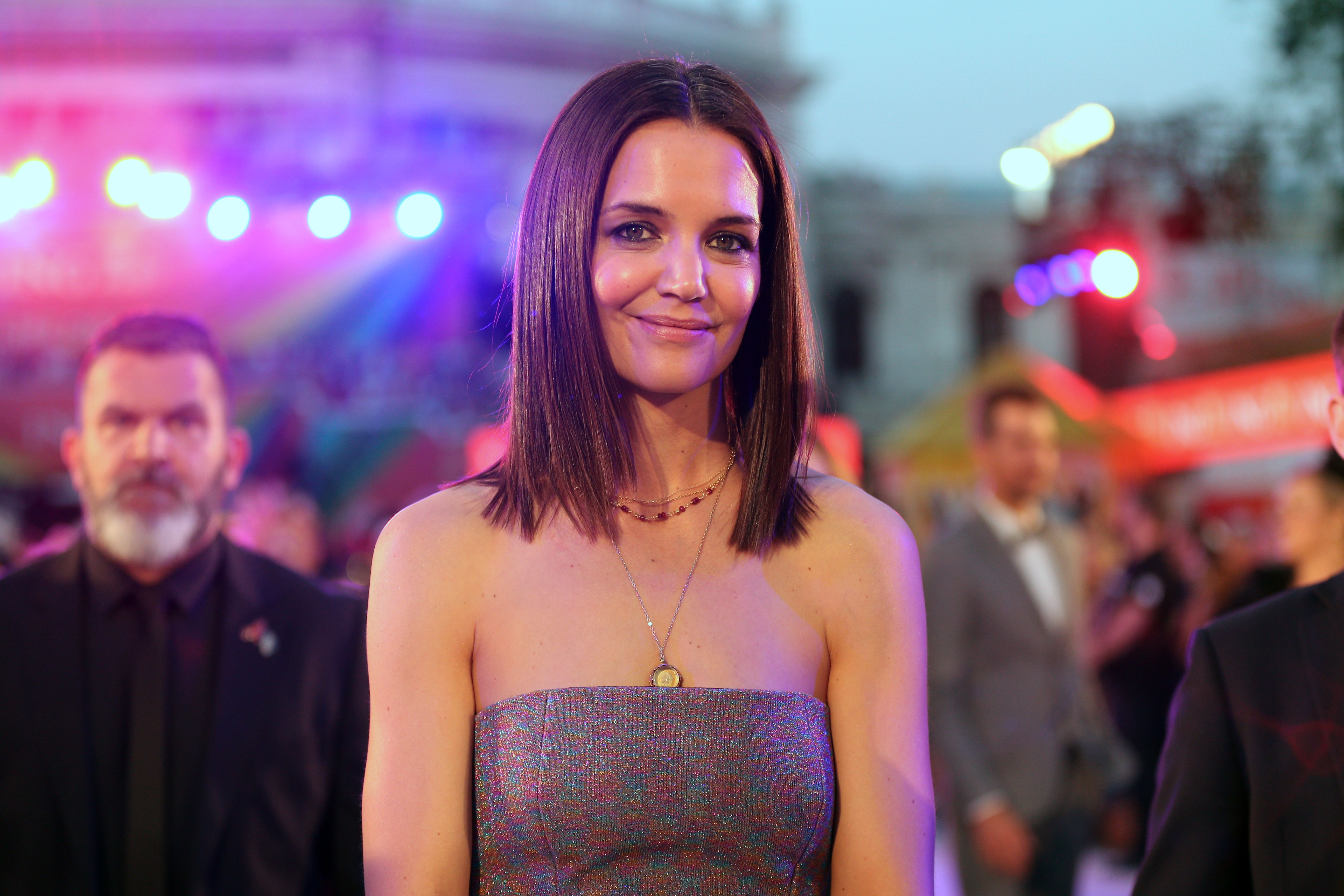Katie Holmes Wore a Missoni Ball Gown and Looked So Chic