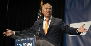 Presidential Candidates Speak At Iowa Democratic Party Hall Of Fame Event