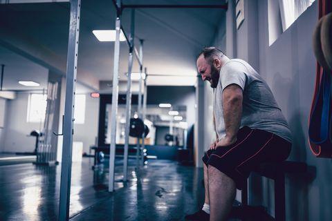 sobrepeso y entrenamiento de fuerza