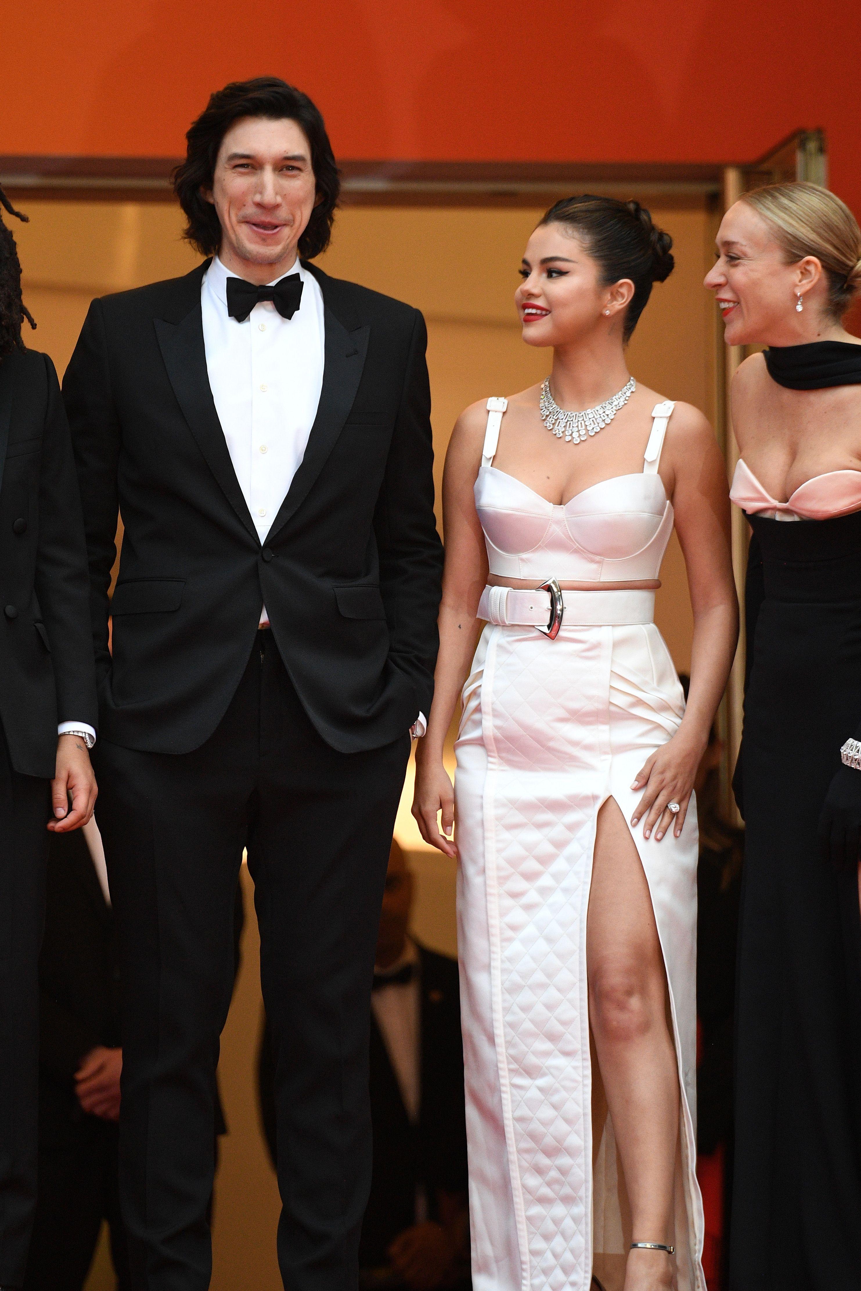 Adam Driver, Selena Gomez, and Chloe Sevigny