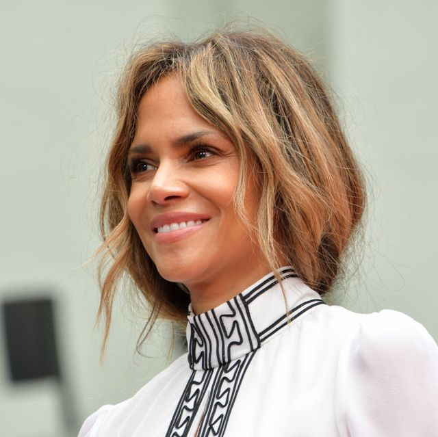 hollywood, california   may 14 halle berry attends a handprint ceremony honoring keanu reeves at the tcl chinese theatre imax forecourt on may 14, 2019 in hollywood, california photo by rodin eckenrothfilmmagic