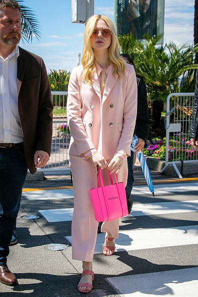 Elle Fanning Out in Cannes during the festival.