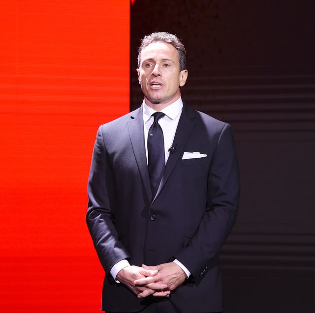 new york, new york   may 15 chris cuomo of cnn's cuomo prime time speaks onstage during the warnermedia upfront 2019 show at the theater at madison square garden on may 15, 2019 in new york city 602140 photo by kevin mazurgetty images for warnermedia