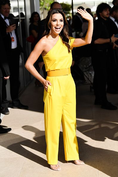 Eva Longoria Out in Cannes during the festival.