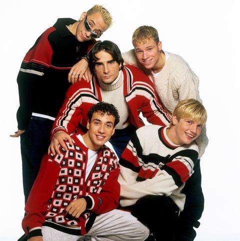 Backstreet Boys (l-r): Alexander James McLean, Howie Dorough, Kevin Richardson, Brian Littrell, Nick Carter