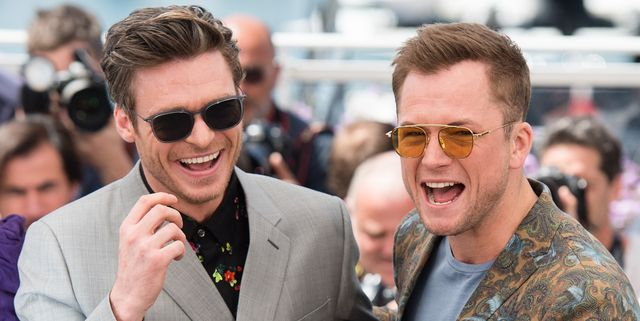 Please Enjoy This New Video of Richard Madden and Taron Egerton Tap-Dancing