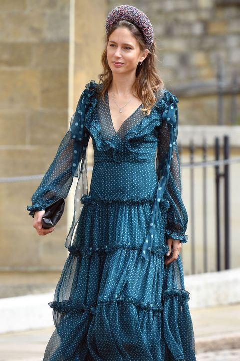 Clothing, Fashion model, Dress, Blue, Fashion, Waist, Day dress, Turquoise, Cocktail dress, Street fashion,