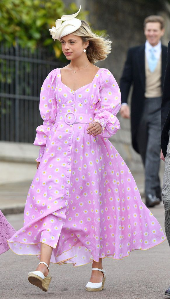 Amelia Windsor's Royal Wedding Guest Dress Is Available To Buy Now