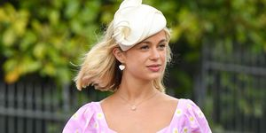 Lady Amelia Windsor royal wedding gul hurgel dress