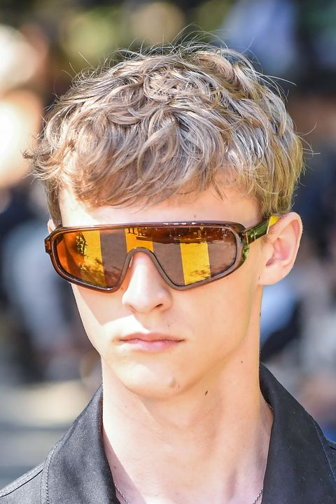 Eyewear, Sunglasses, Hair, Glasses, Cool, Face, Hairstyle, Chin, Blond, Personal protective equipment,