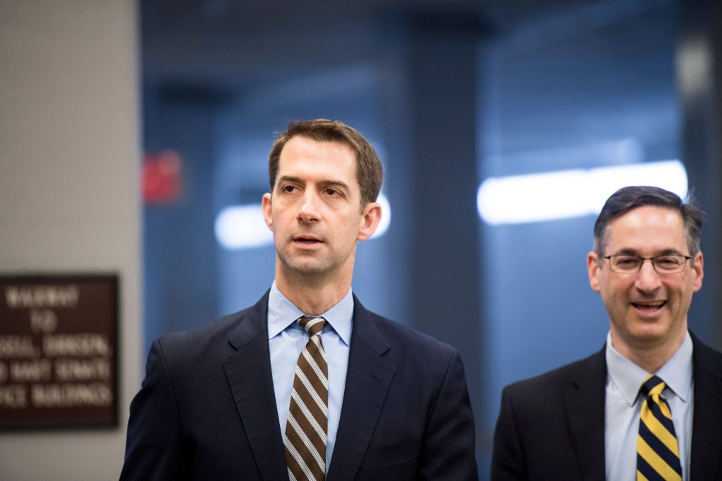 Tom Cotton Needs to Be Watched Carefully