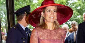 Queen Maxima Of The Netherlands Opens Military Hospital In Utrecht