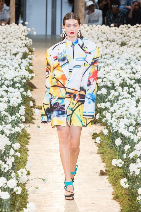 Gigi Hadid runway