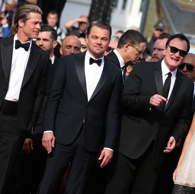 The Best-Dressed Men At The 'Once Upon A Time In... Hollywood' Cannes Premiere