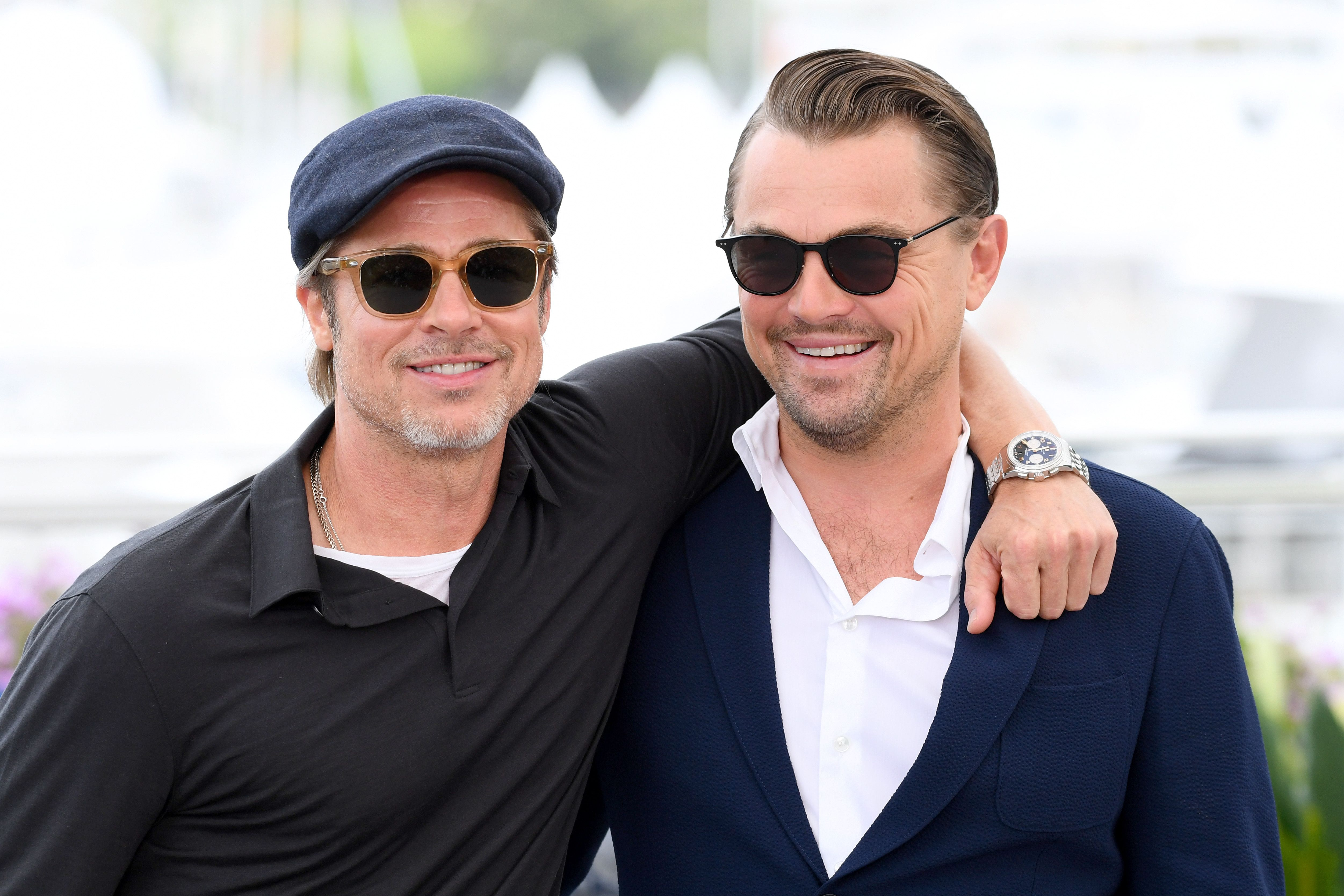 Brad Pitt Lets Slip His And Leonardo DiCaprio's Adorable Nicknames For Each Other