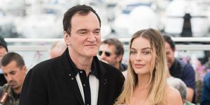 Quentin Tarantino snapped at a reporter for asking about Margot Robbie's lack of lines