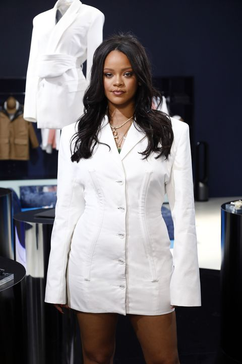 rihanna hosts fenty launch on may 22, 2019 in paris, france