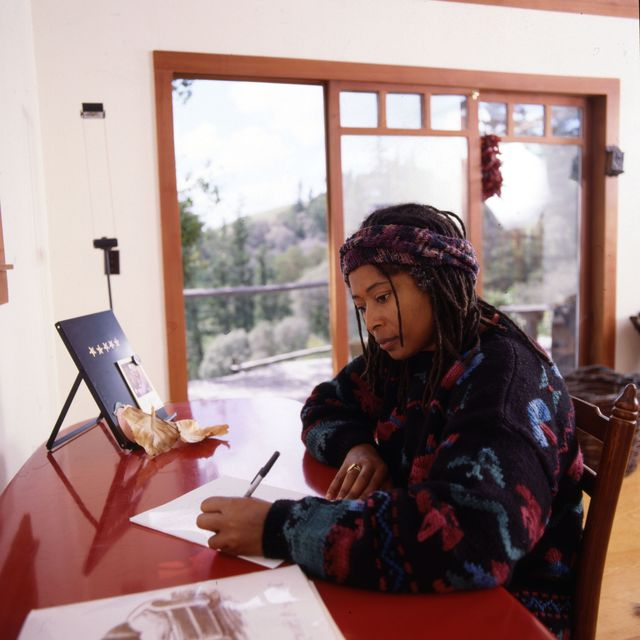 alice walker writing at home