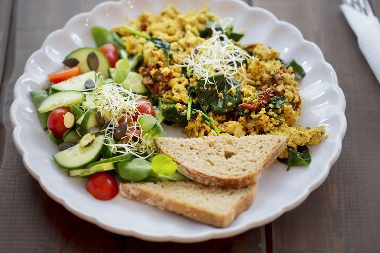 Món ăn sáng giảm cân, chay trường: đậu hũ xào
