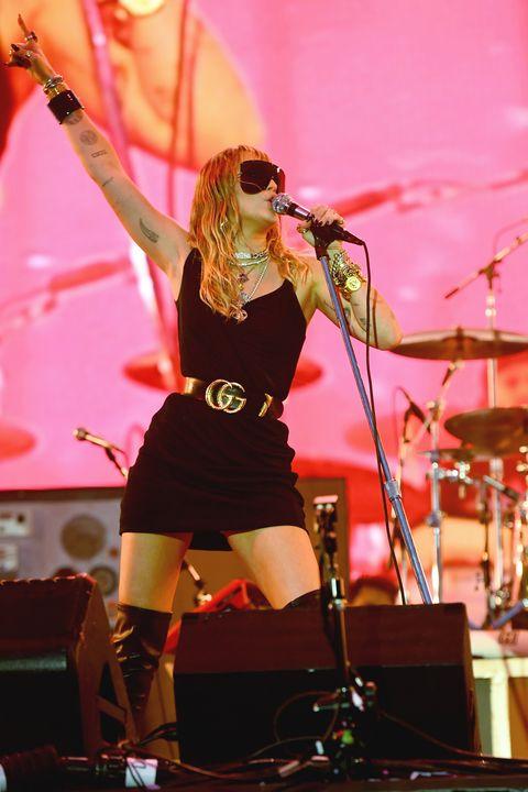 Miley Cyrus's New Song Mentions Cardi B and Nicki Minaj's Feud