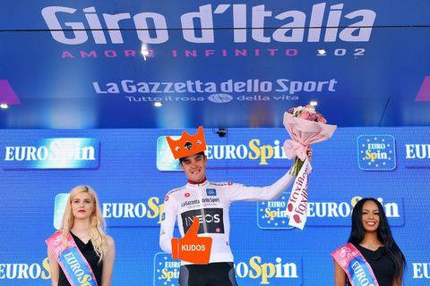 Pavel Sivakov winnaar Strava d'Italia en Koning van Italië