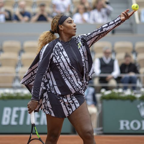 d9bac29d3cab Serena Williams Wears Empowering French Open Outfit One Year After Her  Catsuit Ban